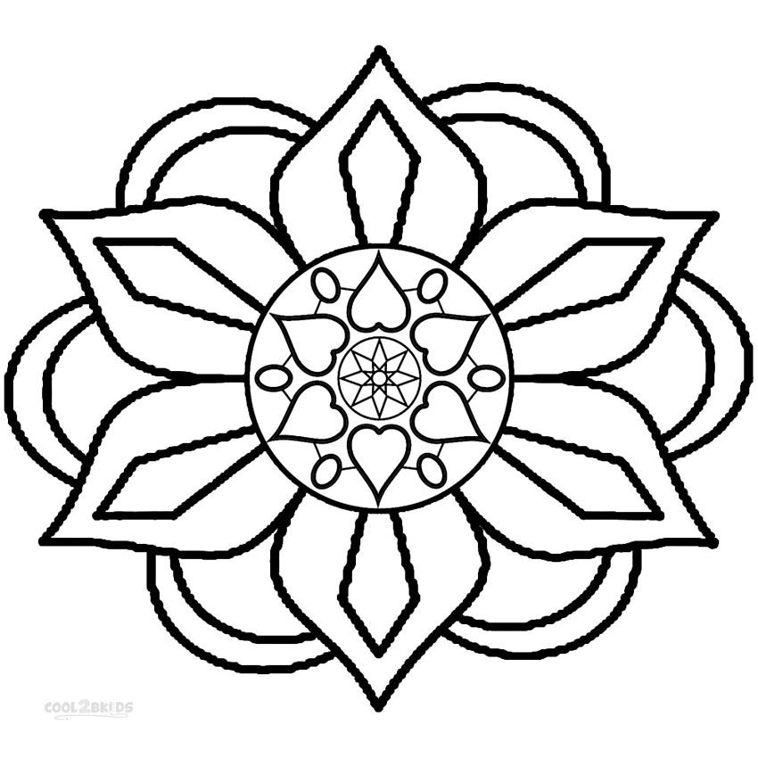 Rangoli Coloring Pages With Images Rangoli Patterns Pattern