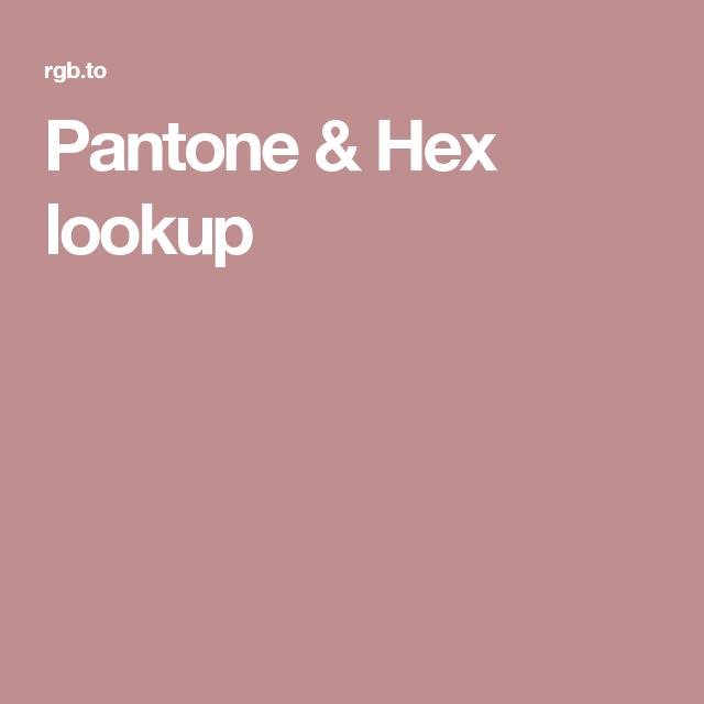 pantone hex lookup colors color schemes cobalt 261c