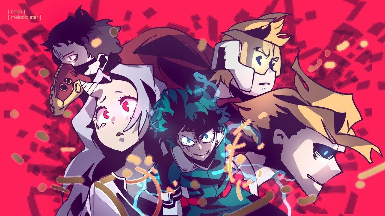 Boku No Hero Academia Season 4 Opening Full Blue Encount Polaris Anime My Hero Character Wallpaper
