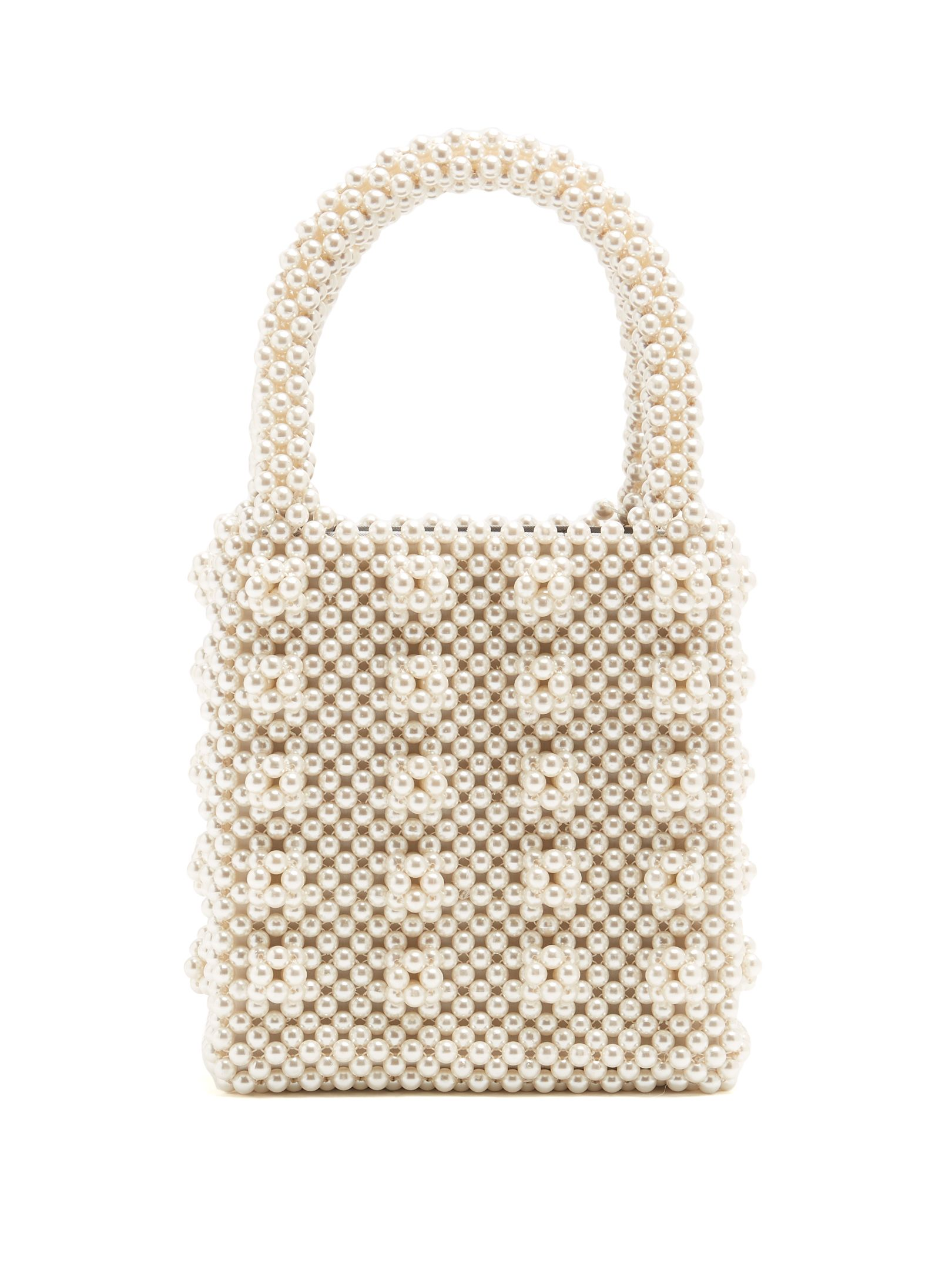 Click here to buy Shrimps Antonia faux-pearl embellished bag at  MATCHESFASHION.COM 59b6bc2fc1ee6