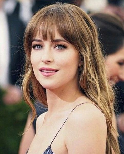 Hairstyles With Bangs Long Hairstyles 2017 With Bangs New Ideas And Trends  Pinterest