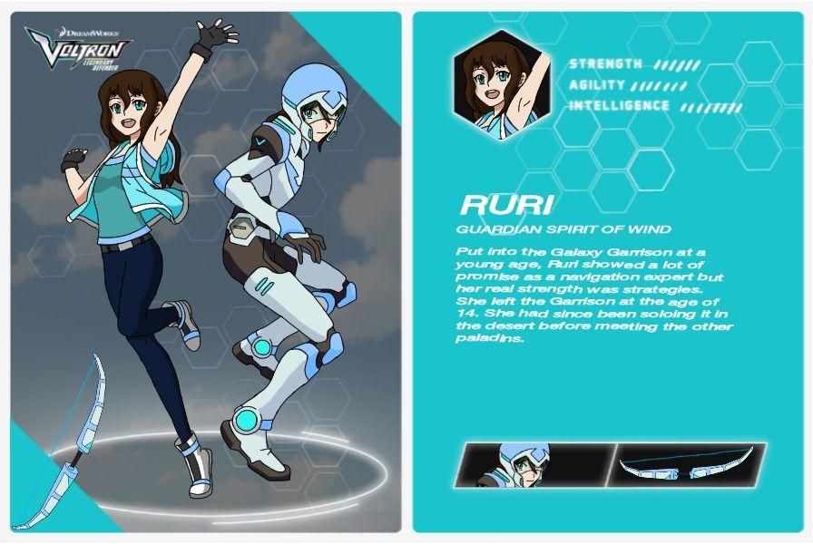 Voltron Legendary Defender Oc Ruri Reika by AquaWolfIsis