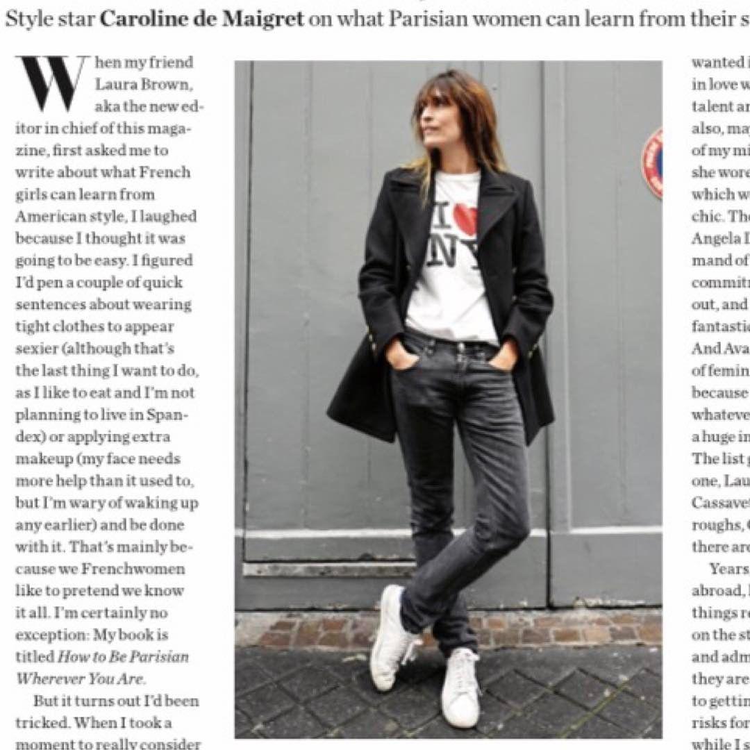 Caroline de Maigret/White Sneakers