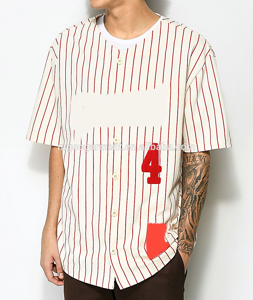49c5efcb9 Pinstripe Custom Baseball Jersey Puff Print Men T Shirt Wholesale Cheap  Baseball Tee Shirt - Buy Pinstripe Custom Baseball Jersey,Puff Print T Shirt  ...