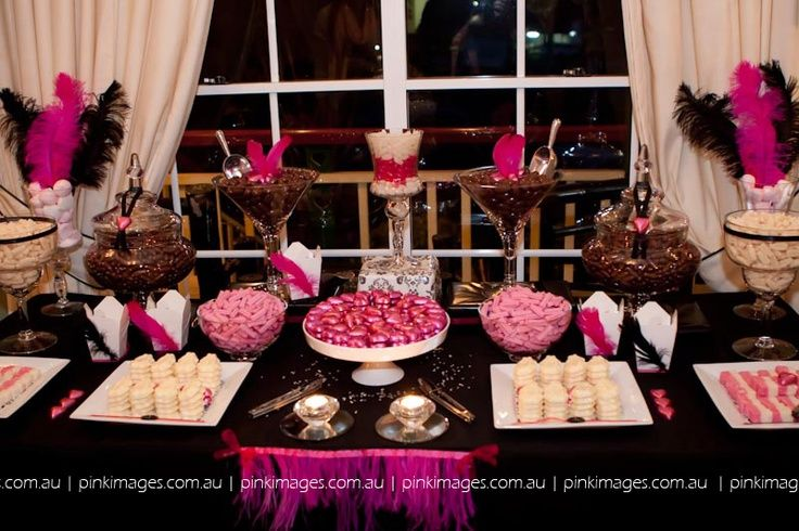 masquerade party cake table setup - Google Search   My ...