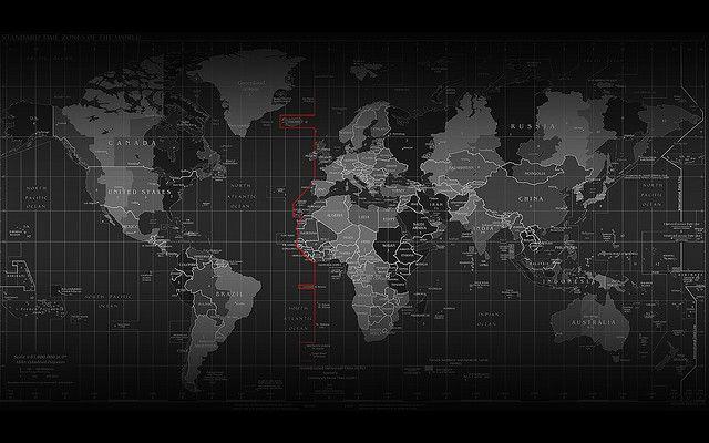 Timezones World Map Wallpaper World Wallpaper Cool World Map World map wallpaper hd 1920x1080