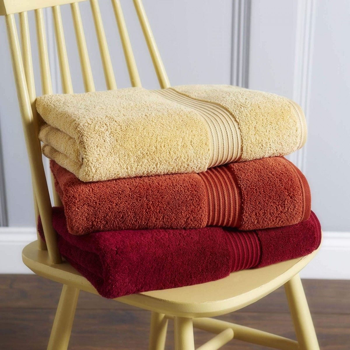 Christy Supreme Hygro 650gsm Cotton Towels Honey Towel