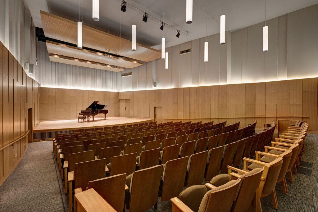 MSU Cook Recital Hall Auditorium design, Auditorium