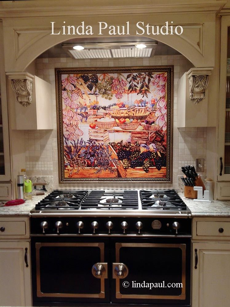 Customer Reviews Linda Paul Tile Murals Kitchen Backsplashes Pics