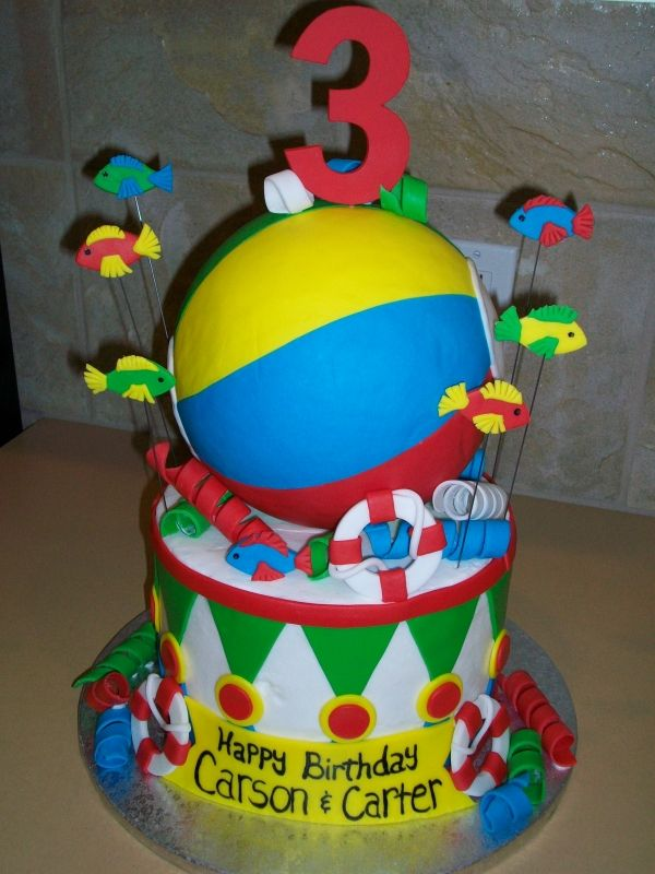 Beach Birthday Cakes Bing Images Party Pinterest Birthday