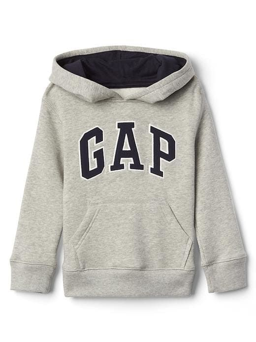 GAP Baby Boy 12-18 Months NWT Navy GAP Logo Fleece Zip Hoodie Sweater Cardigan