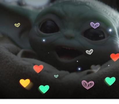 Baby Yoda Smiling Babyyoda Star Wars Jokes Star Wars Yoda