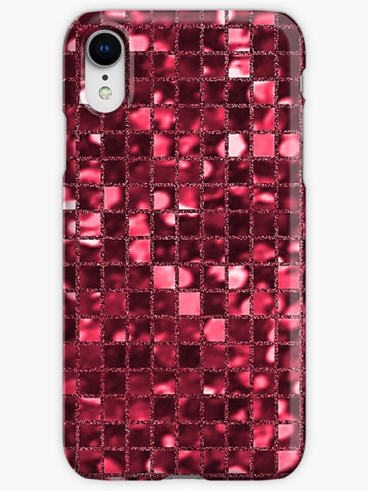 red square iphone xr case