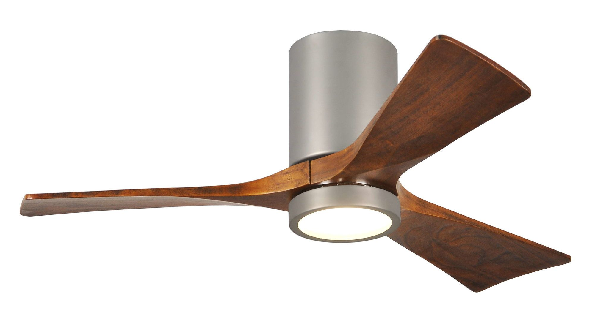 42 Rosalind 3 Blade Hugger Ceiling Fan With Wall Remote And Light