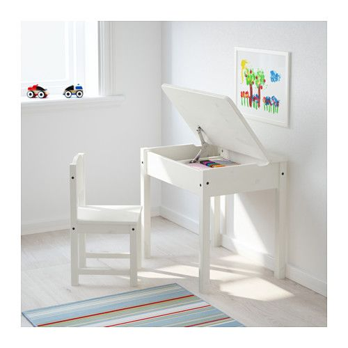 Sundvik Children S Chair White Ikea In 2020 Childrens Desk Ikea Childrens Desk Childrens Chairs