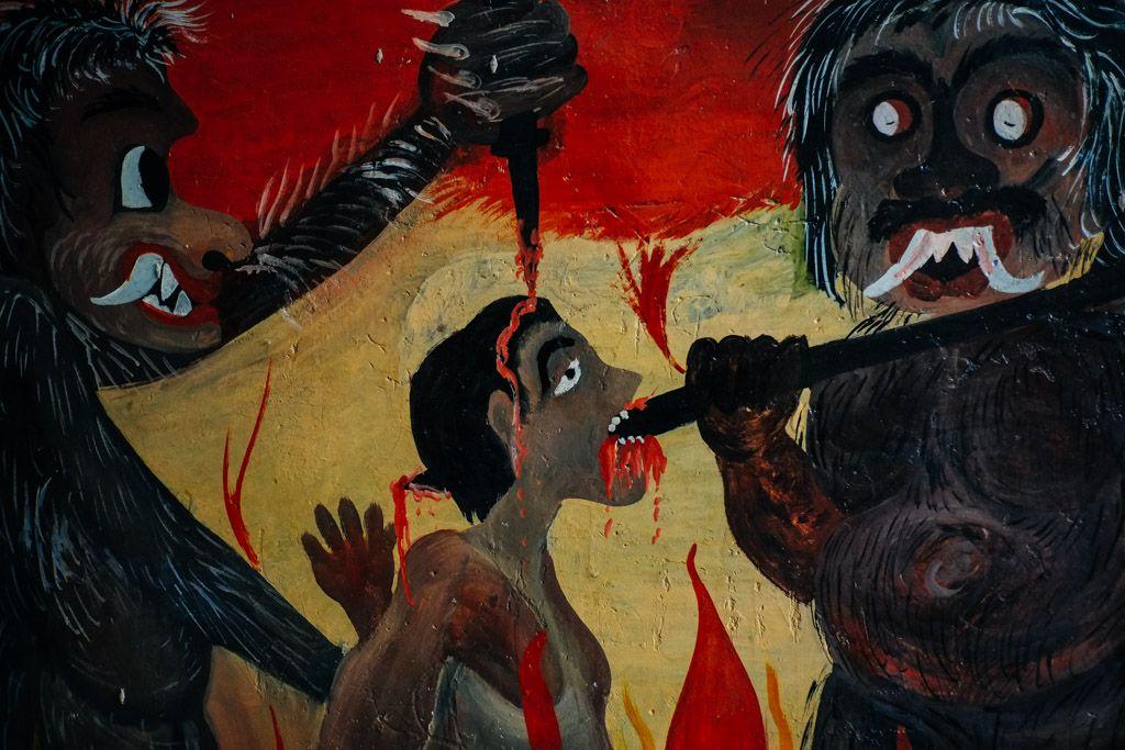 Buddhist Hell from Sri Lanka