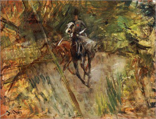 Giovanni Boldini - Amazone