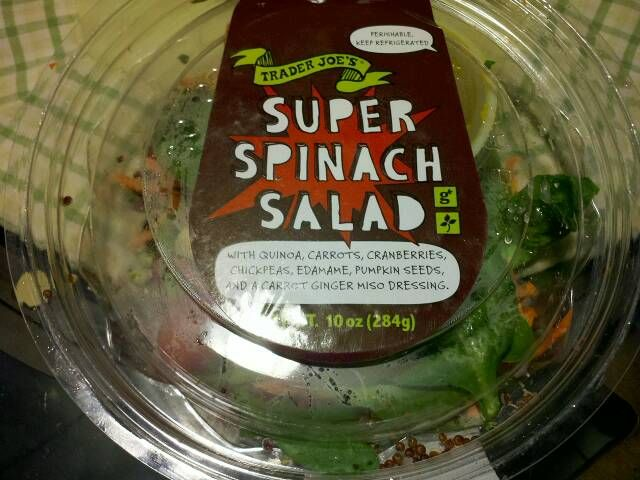In The Kitchen Super Spinach Salad With Images Spinach