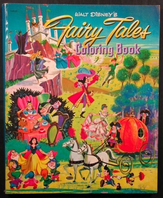 Vintage Coloring Books Vintage Coloring Books Coloring Books Storybook Art