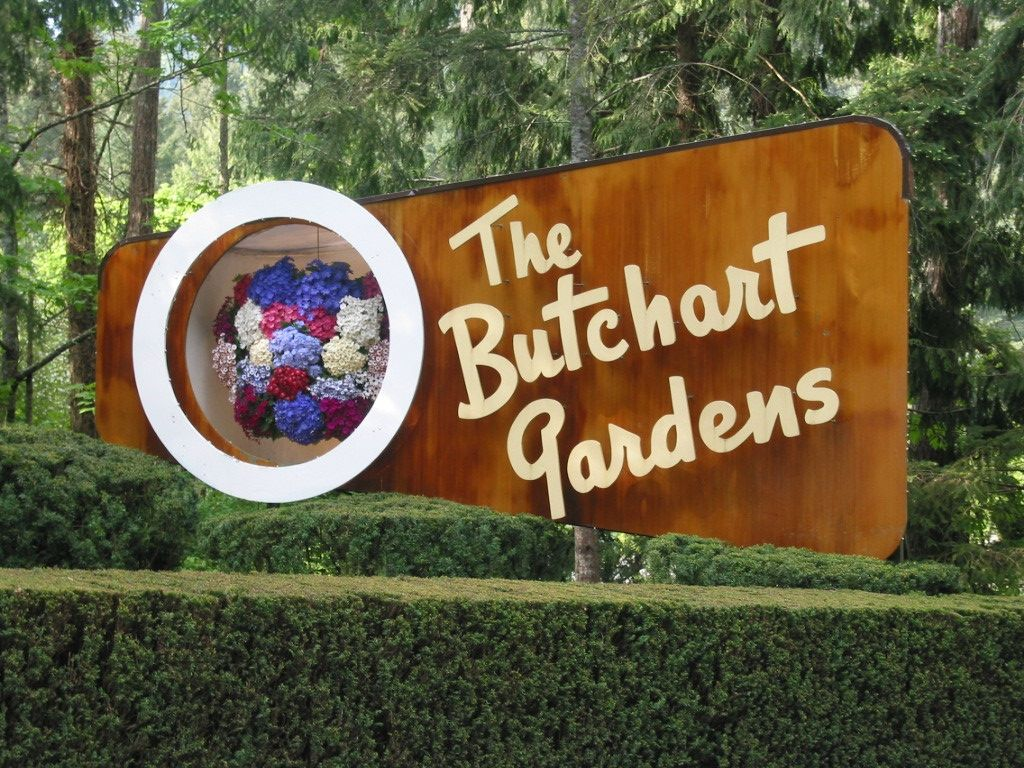 The Butchart Gardens, Victoria Island, BC...the most beauitufl ...
