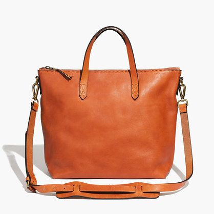 Madewell - The Zip Transport Tote//I have the mini/crossbody version of this--would love the bigger one for fall.