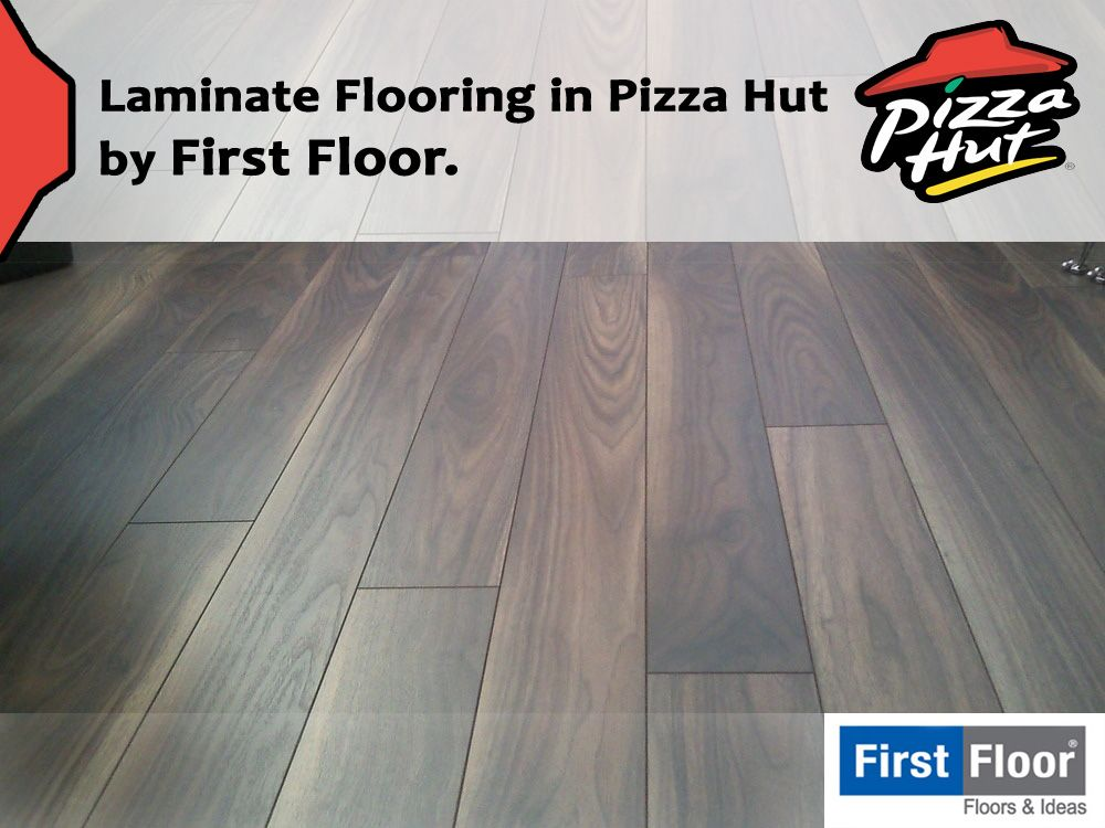 Laminate Flooring In Pizza Hut By First Floor Laminate Flooring Flooring Laminate
