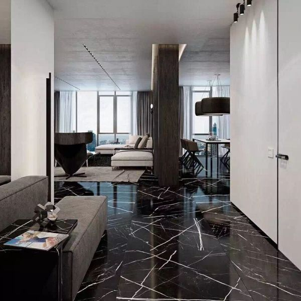 Image result for nero marquina marble slab | Marble living room ...