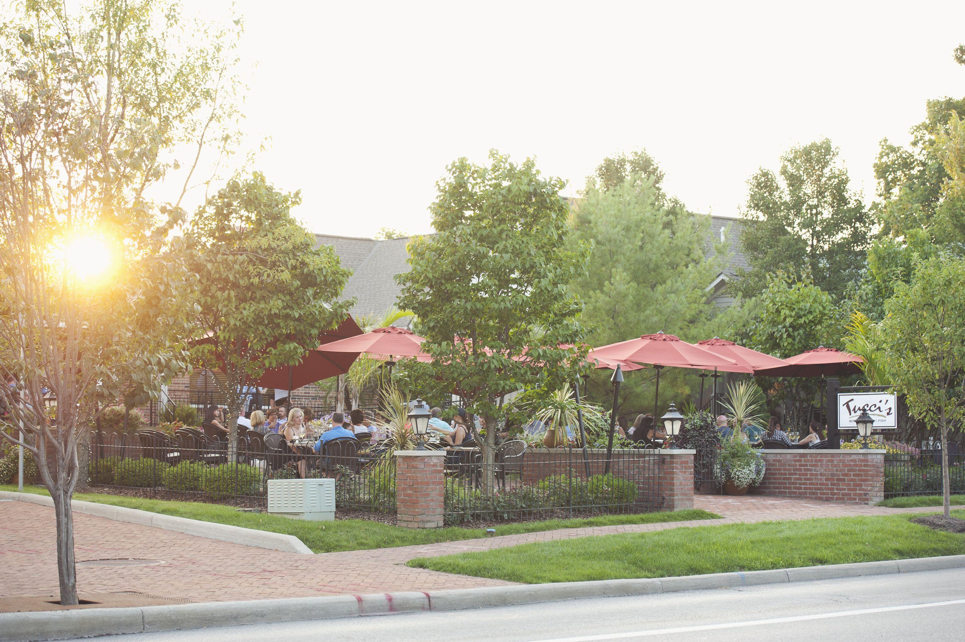 Tuccis patio in dublin ohio dublin ohio restaurants