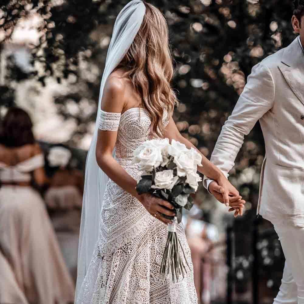 Country Wedding Countrywedding Long Sleeve Mermaid Wedding Dress Backless Lace Wedding Dress Summer Wedding Dress [ 1000 x 1000 Pixel ]