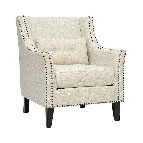 Accent Chair Upholstered Chair Baxton Studio Albany Linen Modern