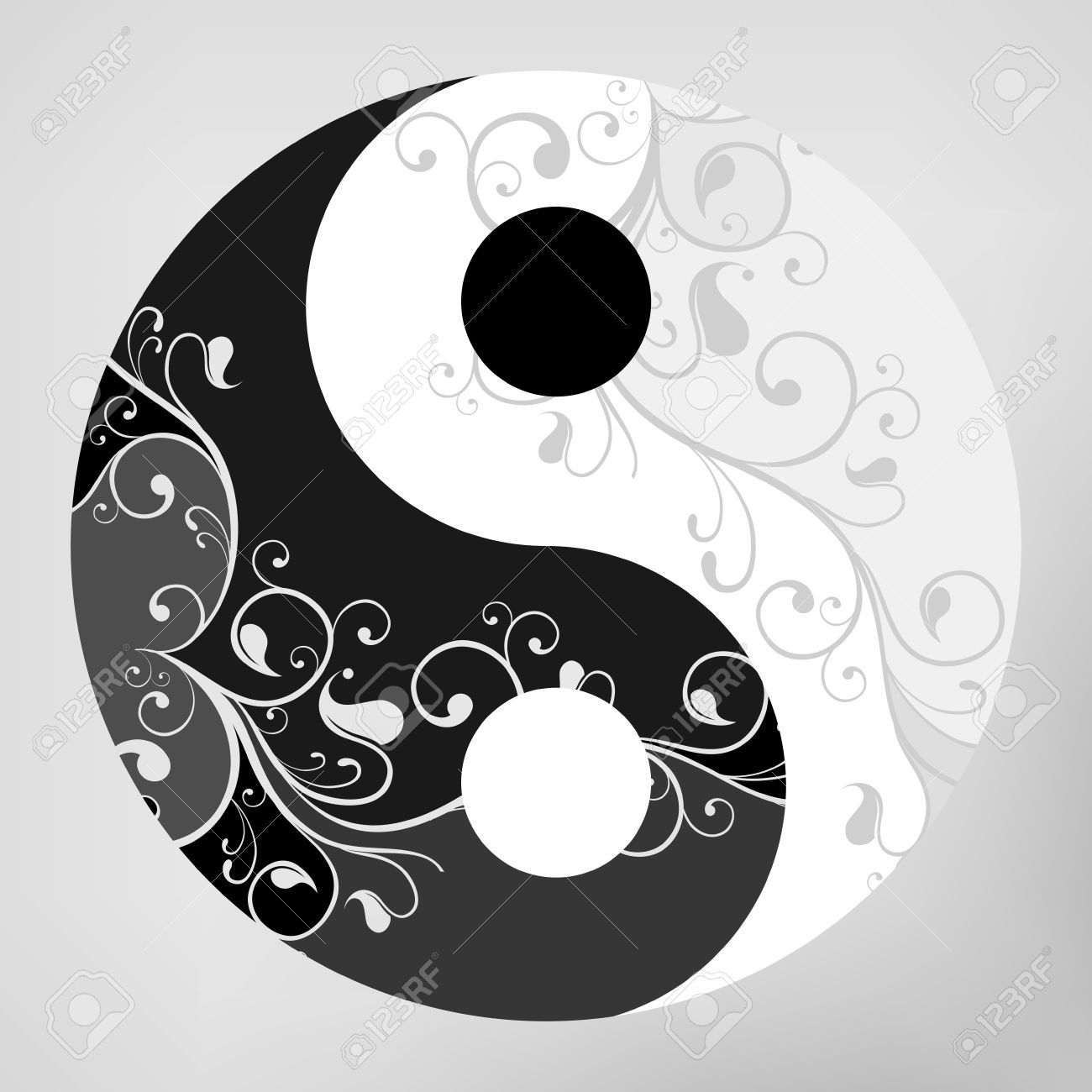 Ying yang symbol meaning images symbol and sign ideas 20862828 yin yang pattern symbol on grey background illustration yin yang yin yang pattern symbol on biocorpaavc