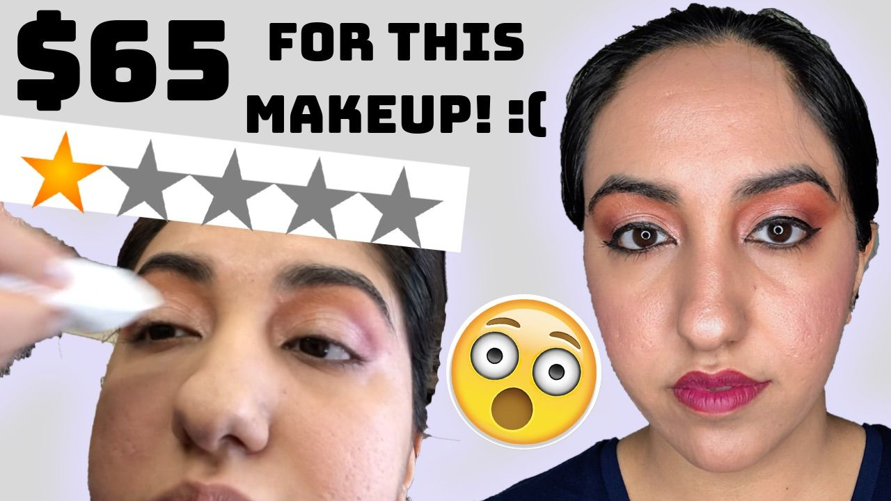 I Went To The Worst Reviewed Makeup Artist In My City Makeup Reviews Bad Makeup Makeup Artist
