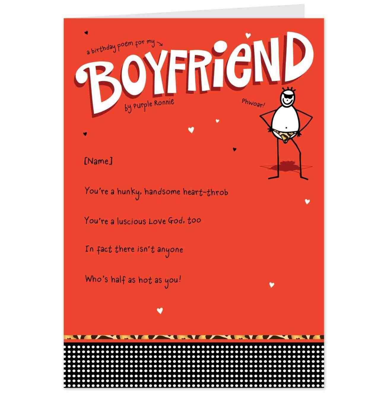 Happy Birthday Rated R Card Sayings For Boyfriend