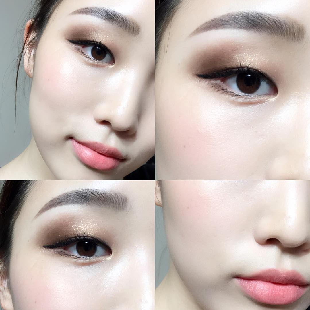 Pin By Alexis Li On Beauty In 2019 Pinterest Monolid Makeup