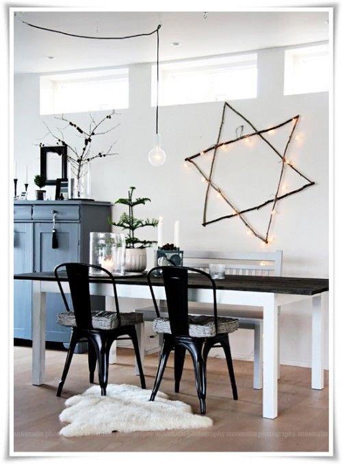 DIY Christmas Twig Star