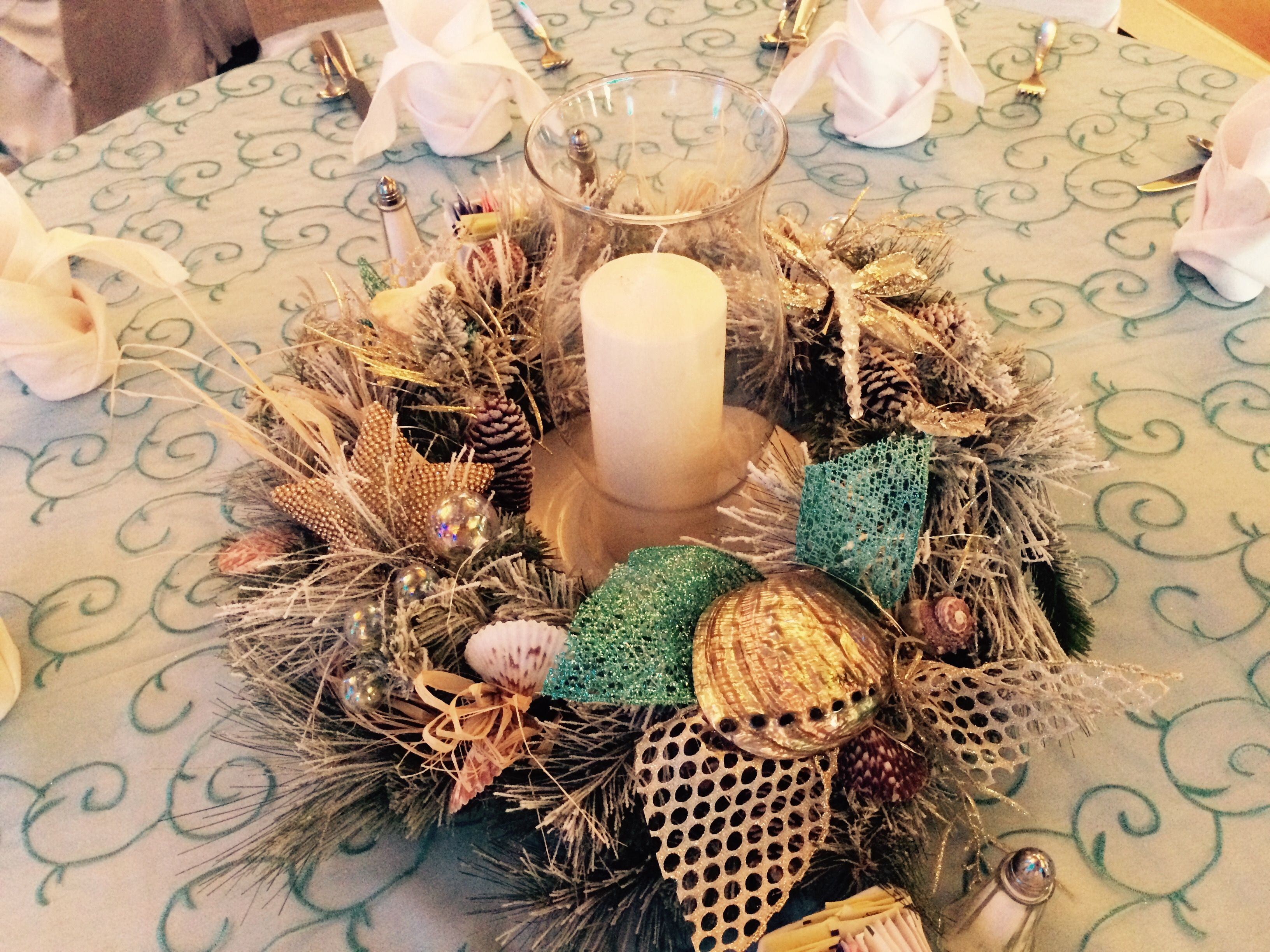 Coastal Christmas Reef made by Wanda Fife at Moody Gardens ...