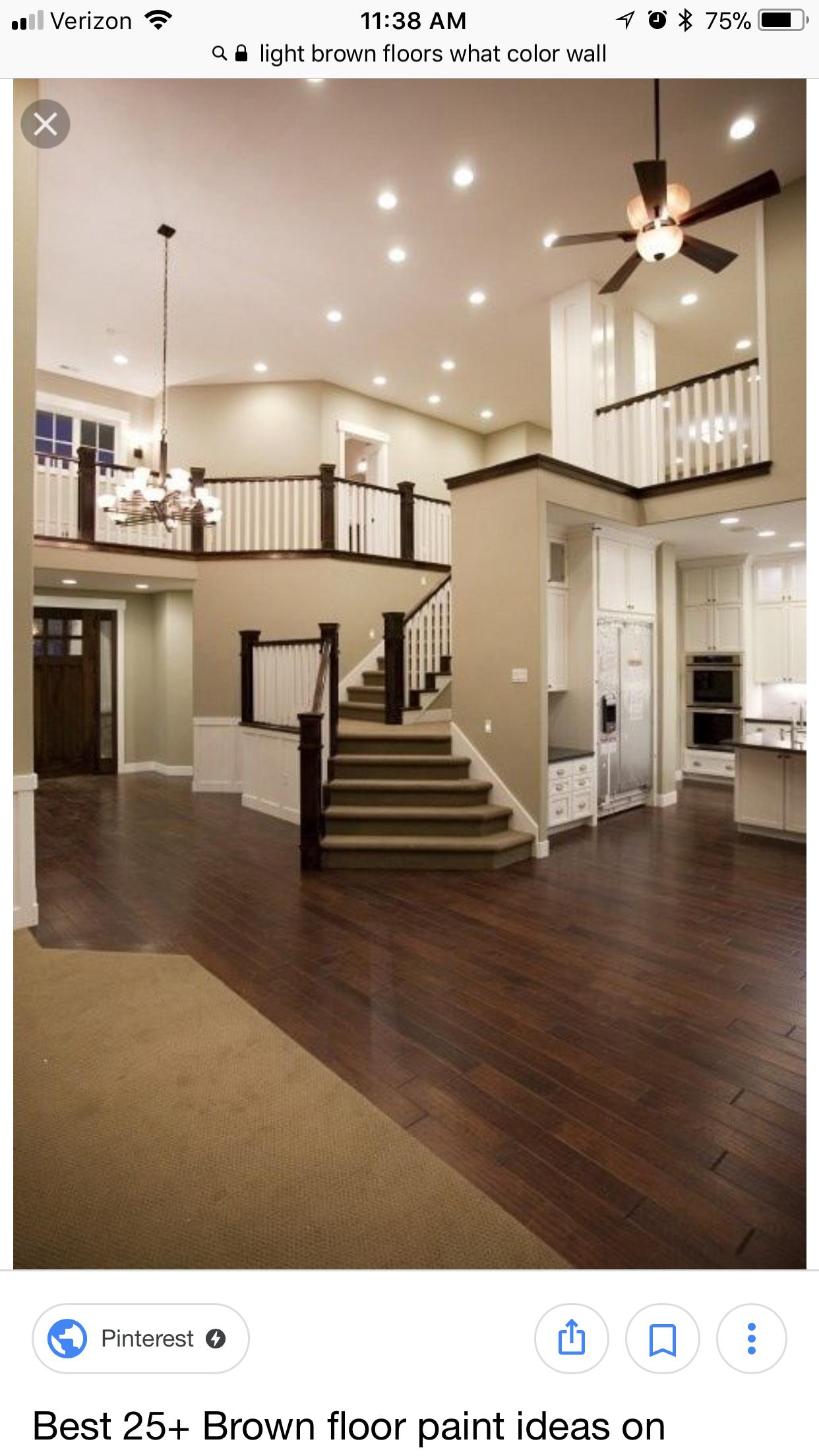 Love The Dark Hardwood Dream House House Design My Dream Home