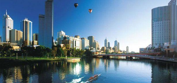 Destino: Melbourne