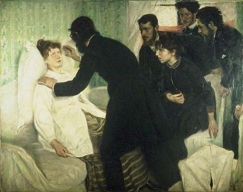 Hypnose by von Richard Bergh. 1887