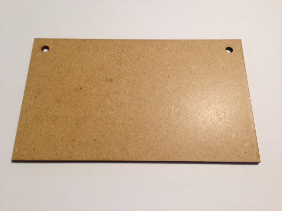 MDF Blanks  MDF Plaque Large Plaque by HandmadeLCreations on Etsy