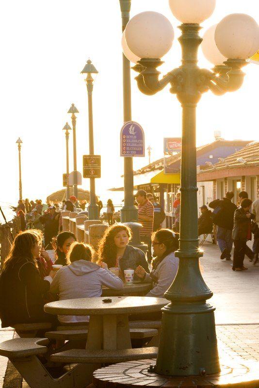 Enjoy great food on Redondo Beach Pier