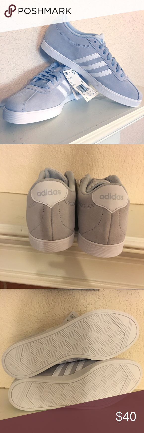 Shoes sneakers adidas, Adidas courtset