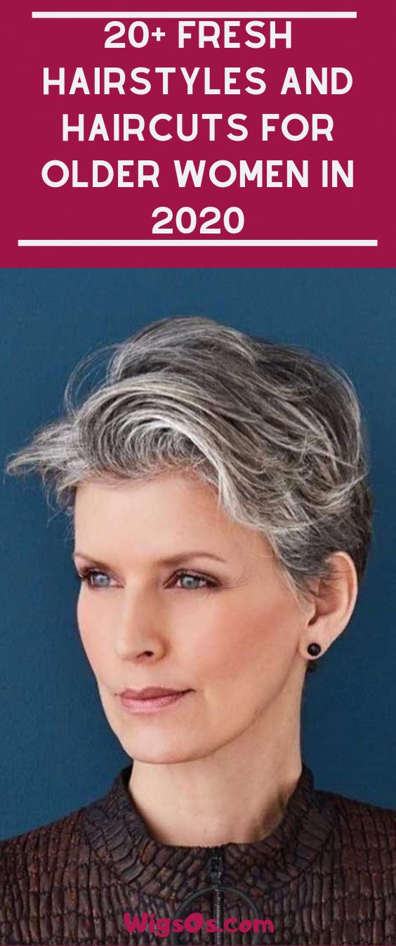 Pin On Older Women Hairstyles