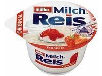 Müller Mü. Milchreis Erdbeer #Ciao
