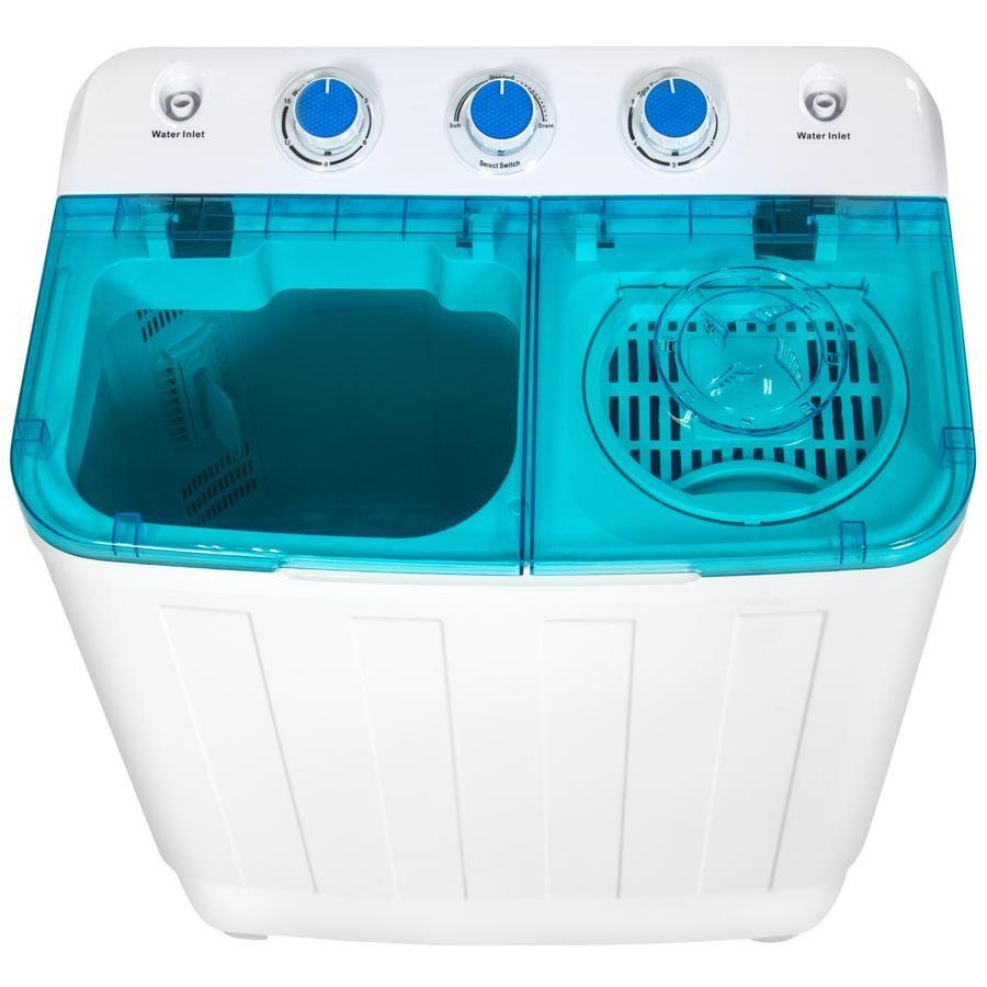 Portable Mini Washing Machine W Spin Dry Cycle Mini Washing Machine Portable Washer And Dryer Twin Tub