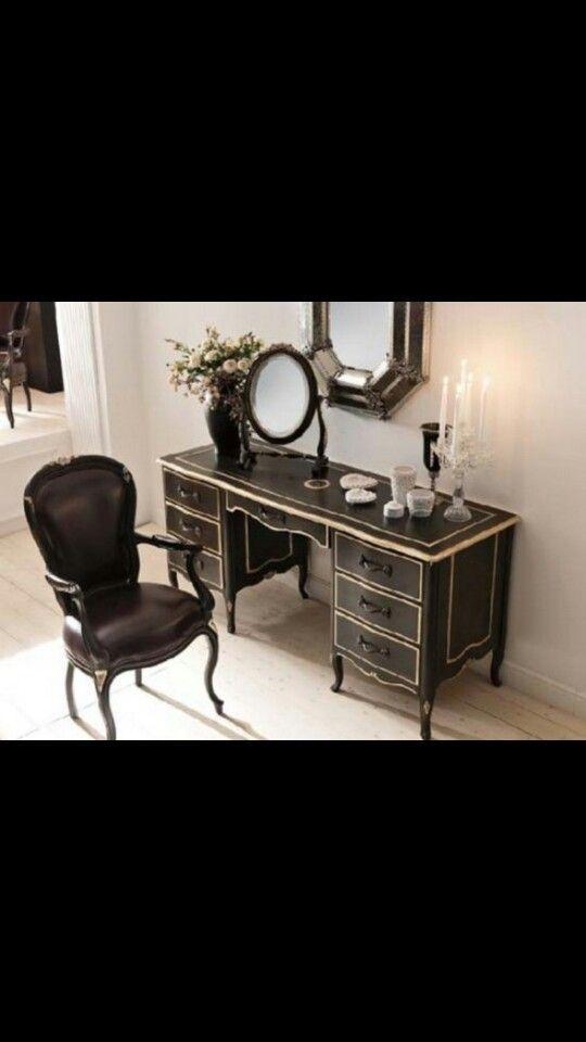 Classic Bedroom Vanity Unit Home Pinterest Mirrored Bedroom