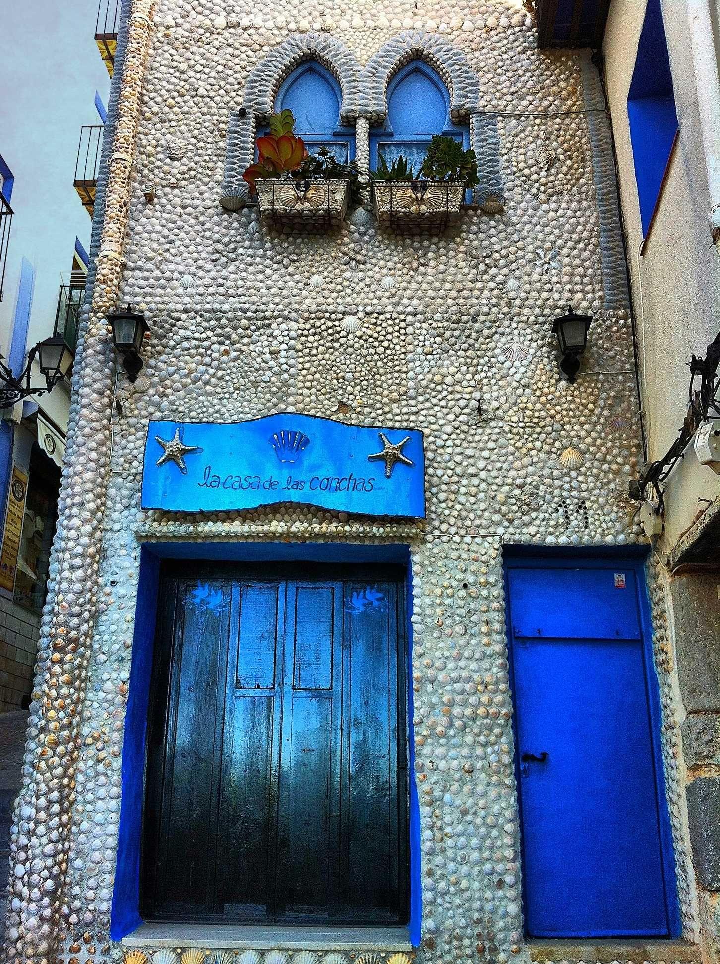 House Of Shells Peniscola Spain Espana Spain Y Viajes