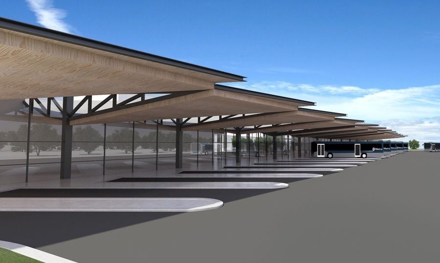 Concept Design Of The Sawtooth Layout At Manukau Bus