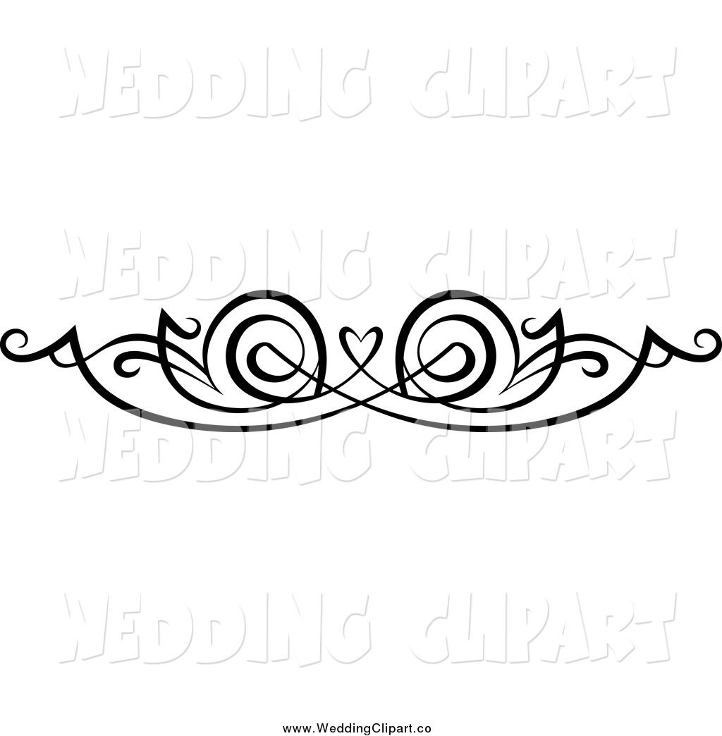 hight resolution of vector marriage clipart of a