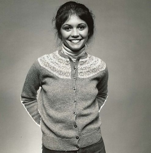 "The classic ""Fair Isle"" yoke sweater of preppy girls gone by ..."